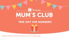 Shopee's Mum's Club: Join and Get RM30 Voucher