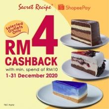 ShopeePay x Secret Recipe