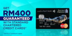 Apply Standard Chartered Credit Card via RinggitPlus and Get RM400