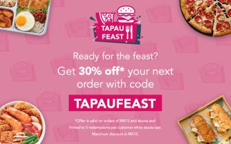 foodpanda Voucher Code: TAPAUFEAST
