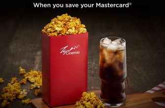TGV Cinema: Get your Free Popcorn Combo with Mastercard!