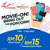 TGV Movieclub Members Promotion