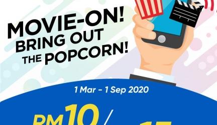 TGV Movieclub Members Promotion