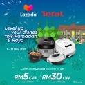 TnGo eWallet: Tefal Raya up to RM30 off