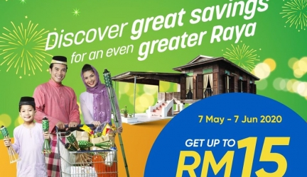 TnGo eWallet: Discover Great Savings for an Even Greater Raya at Giant, Cold Storage, Mercato, GExpress and ShopSmart.