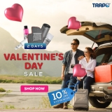 Trapo: Valentine's Day 10% OFF STOREWIDE SALES
