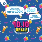 Traveloka 10.10 Deals