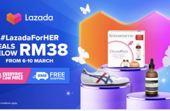 Lazada x Women's Day 6-10 March