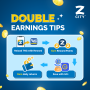 Earn Double with ZCITY