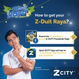 ZCity x SCAN & ZAP DUIT RAYA UP TO RM99.99
