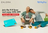 BigPay x ZALORA: Enjoy 23% OFF (1-15 January)