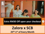 Zalora PAYDAY with Standard Chartered 2021