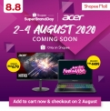 Acer's Super Brand Day on Shopee