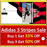 Adidas: 3 Stripes Day Sale now on!