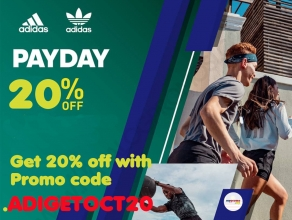 Adidas Malaysia: Payday sale October 2020