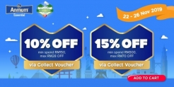 Lazada Big Baby Fair Promo with Anmum (Save up to RM70)