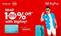 BigPay: EXCLUSIVE 10% OFF on AirAsia.com