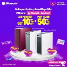 Blueair x Lazada Crazy brand mega offer