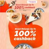 foodpanda x Boost Belanja 100% Cashback