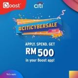 Apply, spend and get with Citi credit card