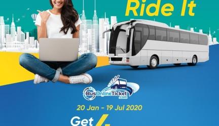 BusOnlineTicket Promo Code Worth RM4