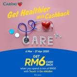Caring Pharmacy RM6 Cashback Promotion
