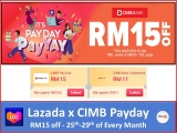 Lazada Voucher Codes: CIMB PayDay Deal September 2021
