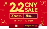 Shopee 2.2 CNY Sale