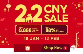 Shopee 2.2 CNY Sale