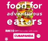 foodpanda Promo Code for New Users: CUBAPANDA