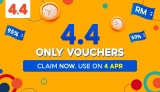 Shopee 4.4 Only Vouchers