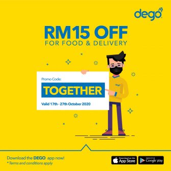 Dego Promo Code: TOGETHER