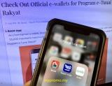 Get Official e-wallets for Program e-Tunai Rakyat