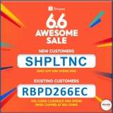 Shopee 6.6 Awesome Sale: Vouchers and Promo Code