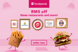 foodpanda Voucher Code: RM5 off foodpanda exclusive eats!