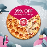 foodpanda Deal: Pizza Hut 35% OFF