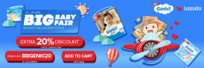Lazada Big Baby Fair Promo with Genki Extra 20% Discount