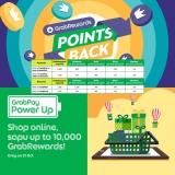 GrabPay Power Up & Pointsback on GrabRewards