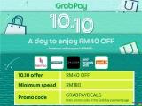 GrabPay 10.10 – Promo Code GRABPAYDEALS