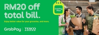 GrabPay Promo: Enjoy better value with GrabPay at TESCO today