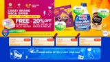 Lazada 7.7 Mid Year Sale Bank Voucher Up to RM100