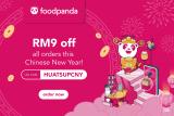 foodpanda Voucher Code: HUATSUPCNY