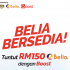 Claim your RM150 eBelia with ShopeePay Get EXTRA RM500 Vouchers Guaranteed