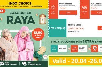 Shopee Indo Choice: Gaya Untuk Raya