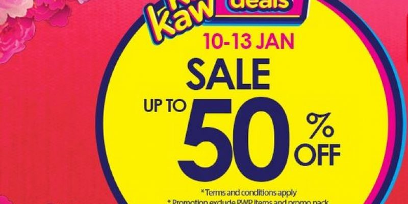 Watsons Malaysia: Weekend KAW KAW Deals (Up to 50% off)