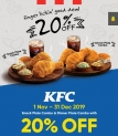 Touch 'n Go eWallet: KFC 20% Promotion
