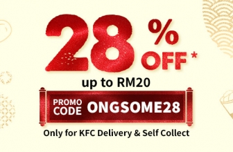 KFC Promo Code: Get 28% OFF this CNY with KFC Delivery or Self Collect