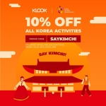 Klook: 10% Discount on All Korea Activities