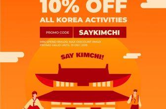 Klook: 10% Discount on All Korea Activities