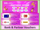 Lazada 5.5 Raya Sale x Bank and Partner Voucher Promo Code